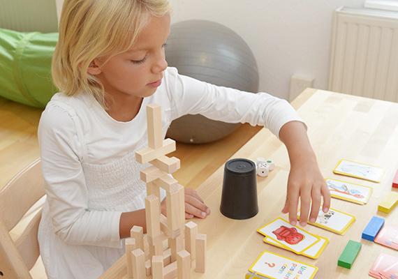 Therapie von Sprachstörungen mit einem Kind